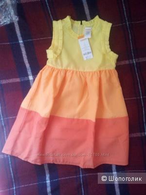 Новое платье Gymboree, 6 лет