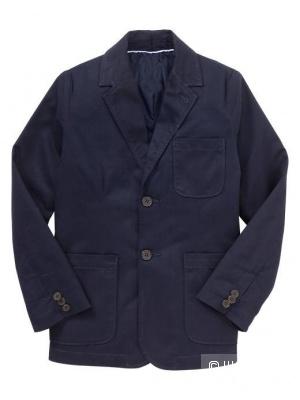 Блейзер/пиджак темно-синий Gap для мальчика 6-7 лет