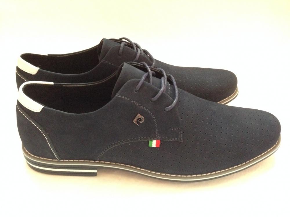 a4611fa8 Шикарные мужские кожаные ботинки под джинсы от Pierre Cardin Новые р.42 и  43 за