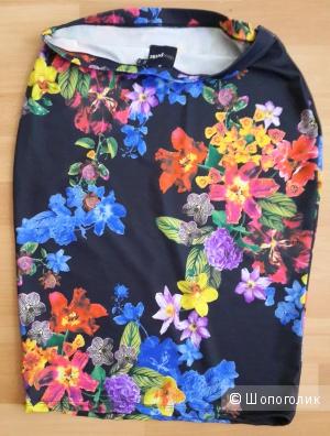 Юбка Asos размер UK10 Asos petite exclusive pencil skirt in floral print