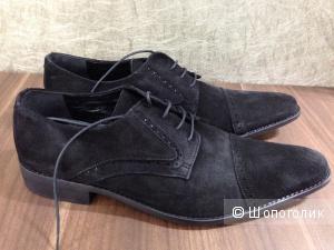 Мужские дизайнерские ботинки Alain Manoukian замша р.43 новые