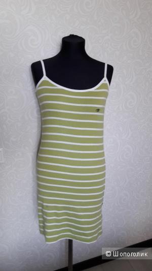 Трикотажное платье тенниска Tom Tailor..36