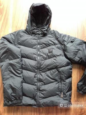 Мужская пуховая куртка-пуховик в машину FILA Новая р.L с ценником 100$