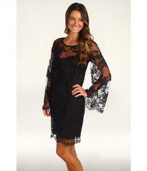 Nicole Miller платьеплатье из ажурного французского кружева р.44