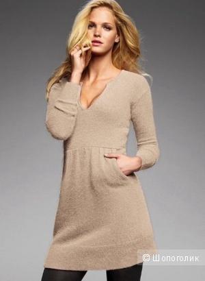 Новое ангоровое платье Victoria's Secret цвета nude, размер Xs/S