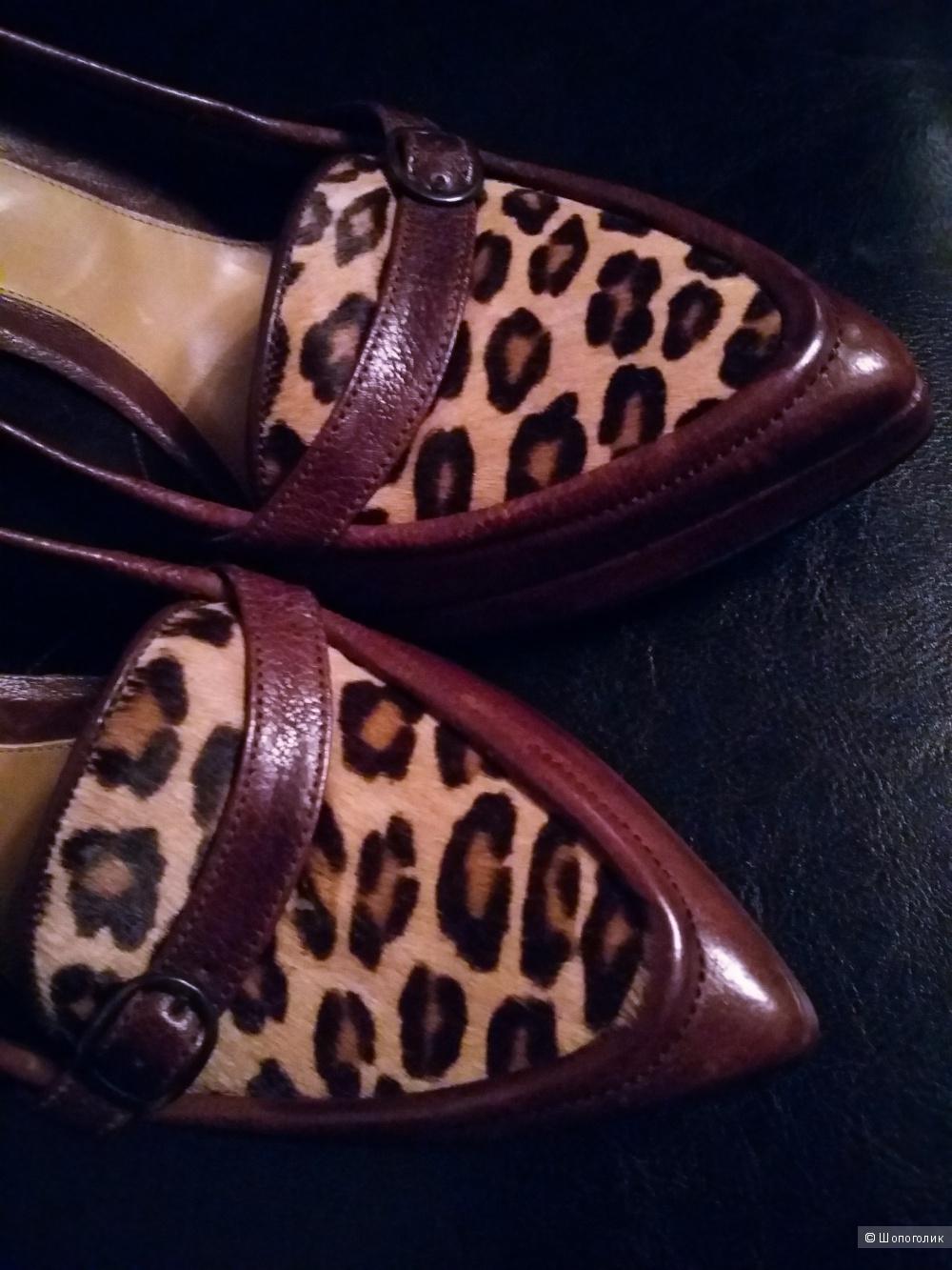 """Шикарные туфли """"Alexander McQueen"""" Италия. Оригинал. Размер 40 1/2."""