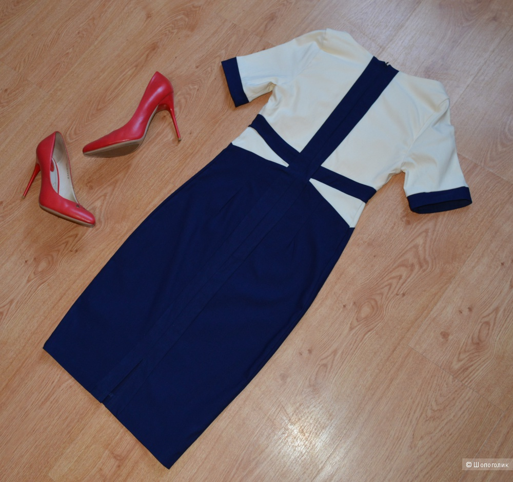 Платье - футляр колор блок VESPER