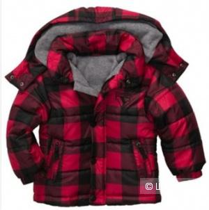 Осенняя куртка на мальчика стеганая размер 3Т  OshKosh