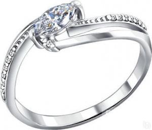 Серебряное кольцо SOKOLOV размер 17
