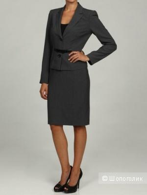 Calvin Klein строгий деловой костюм в офис р.44 Новый Оригинал