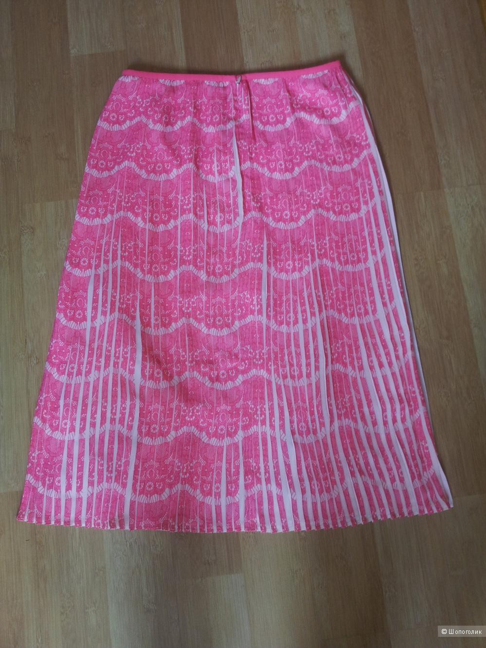 Плиссированная юбка Karen Millen UK10 новая