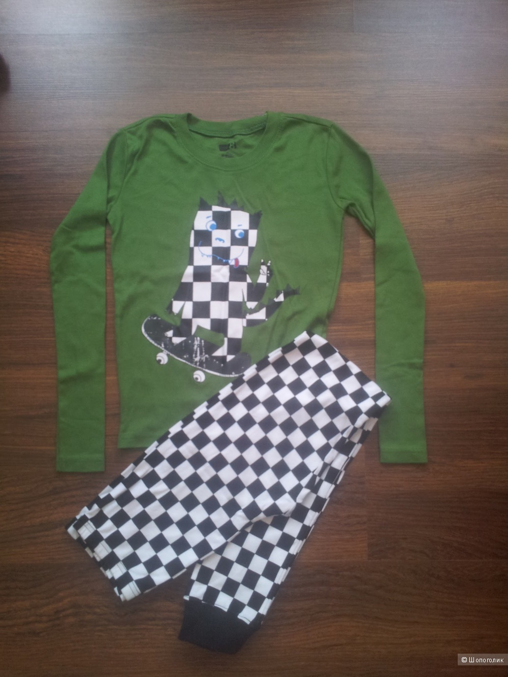 Пижама для мальчика, размер 10 лет