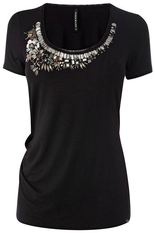 Новая футболка Karen Millen