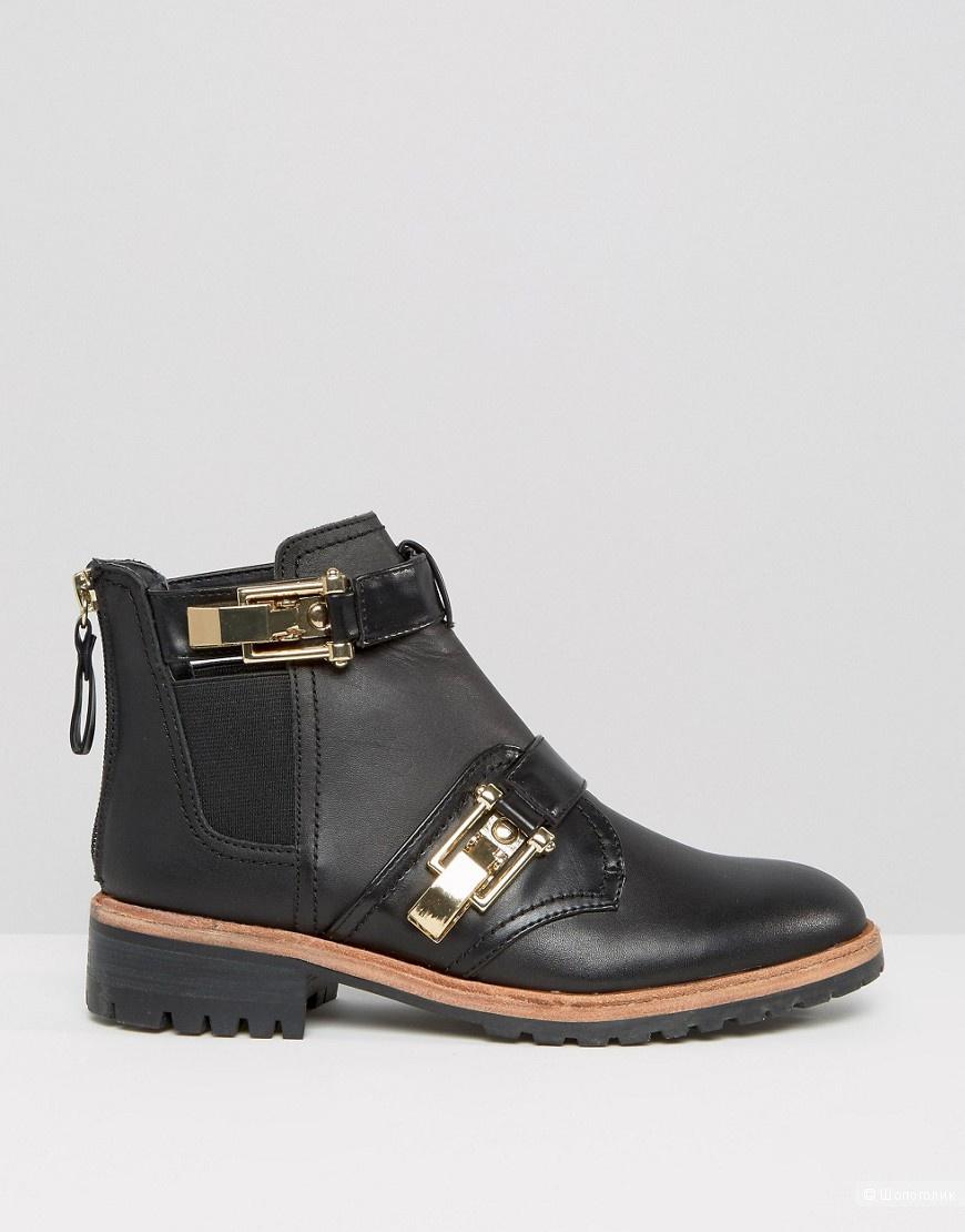 Ботинки стильные новые ALDO  осень, 38-й р-р, натуральная кожа