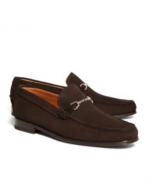 Продам туфли-мокасины!  Отличного качества, туфли новые, оригинал от BrooksBrothers. размер 10.5 (43.5-44)! Туфли выполнены из замшы, кожаная подошва, производство Италия! пересыл пополам))
