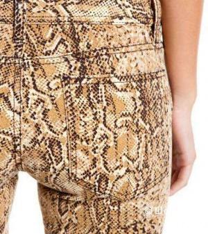 Дизайнерские джинсы под рептилию от TORY BURCH р.28 с ценником 225$