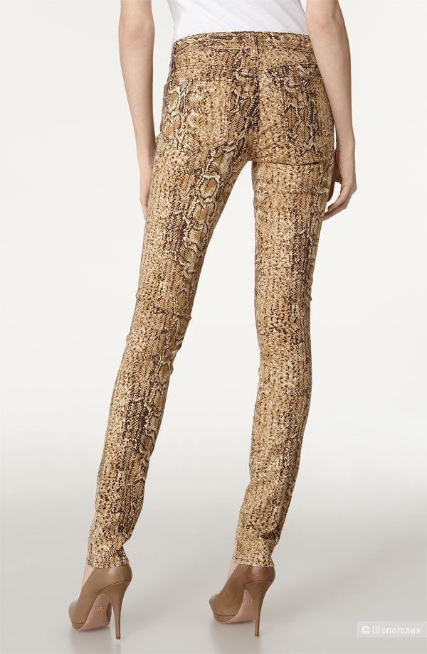 baa5badbf0e Дизайнерские джинсы под рептилию от TORY BURCH р.28 с ценником 225 ...