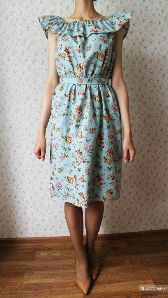 Летнее платье ручной работы