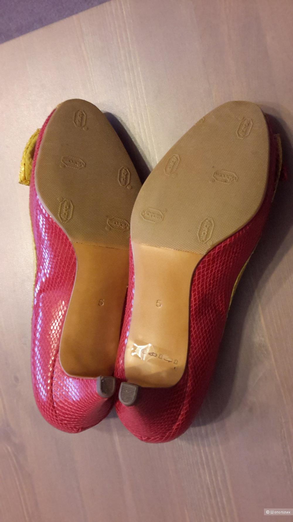 Туфли Peter Kaiser новые р.5 на наш 37,5-38