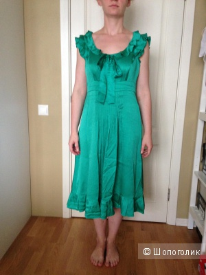 Шелковое платье Monsoon