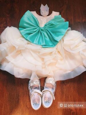Пышное платье на девочку