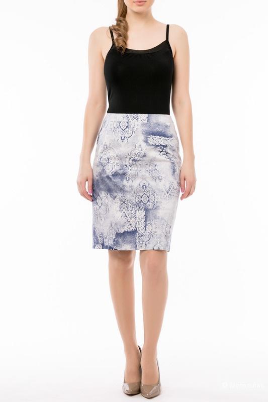 Классическая юбка выше колен фирмы Remix размер 50 новая