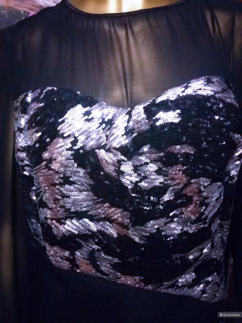 Роскошное вечернее платье. Бейрут. 50-54 размер. Новое.
