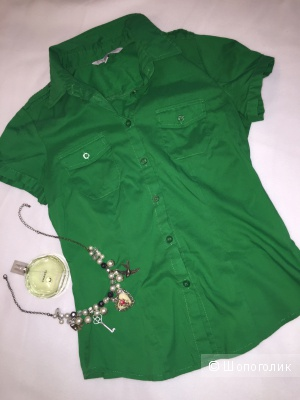 Рубашка-блуза женская новая. 42-44 размер.