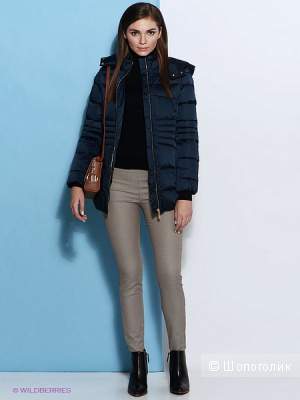 Пуховое пальто Trussardi Jeans