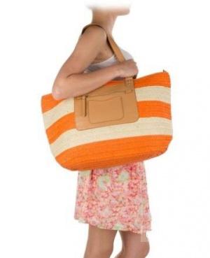 Летняя сумочка для пляжа или города
