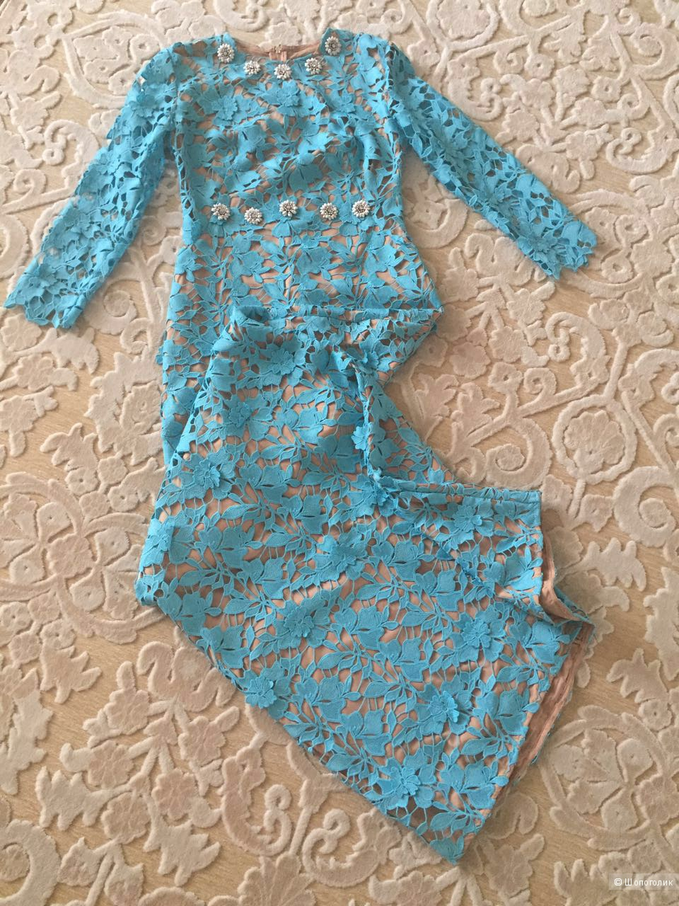 Платье Dolce, реплика-люкс