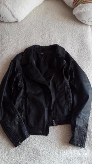 DNKY куртка кожаная