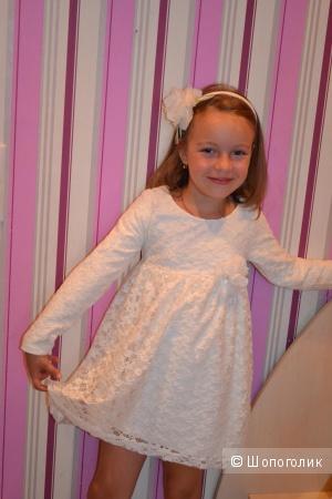 Платье на девочку р.116. Турция