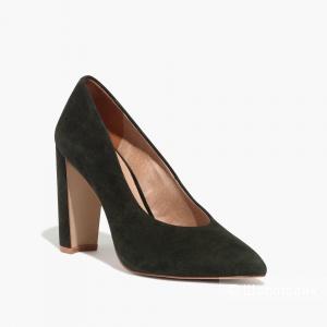Продам замшевые туфли Madewell