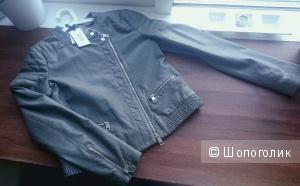 Новая кожаная куртка LIU JO Jeans 42 it (44 российский)