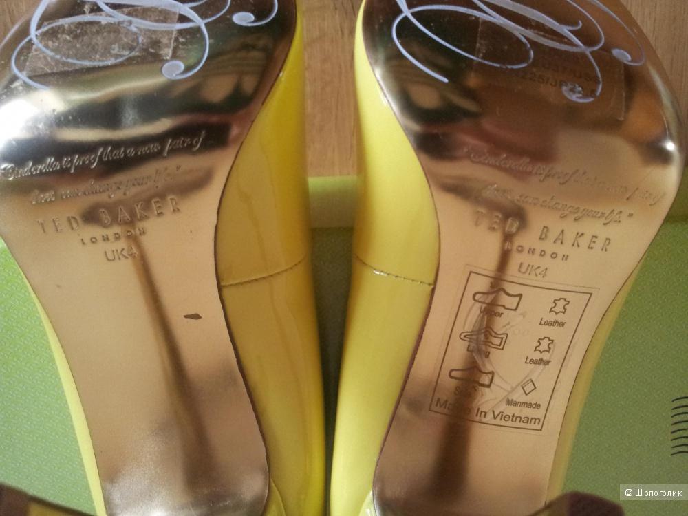Классические туфли-лодочки Ted Baker UK4 новые