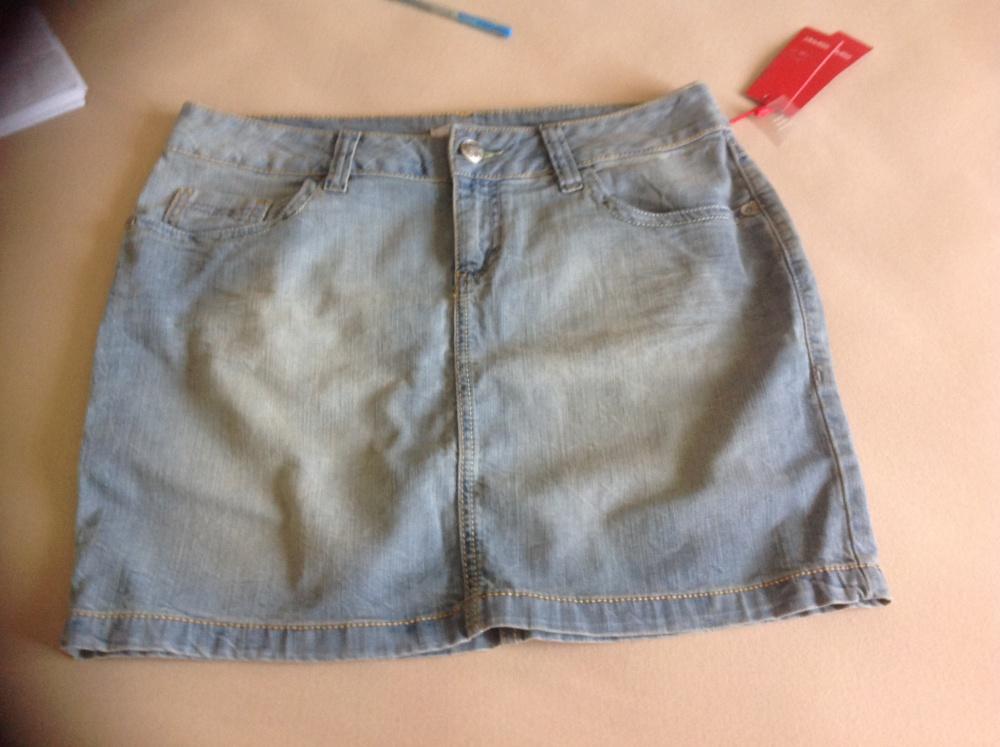 Новая джинсовая юбка Esprit 29 размер, но вполне подойдет на 30й размер. Из Германии.