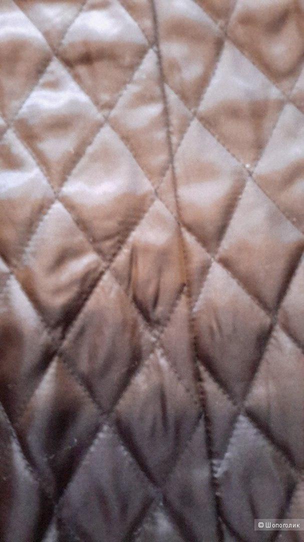 Пиджак-френч (куртка-плащ) кож зам фирма Motivi размер 44 европейский на наш 48 в хорошем состоянии