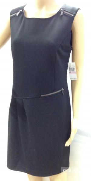 Офисное строгое платье от Michael Kors с логотипами на замках р.44-46