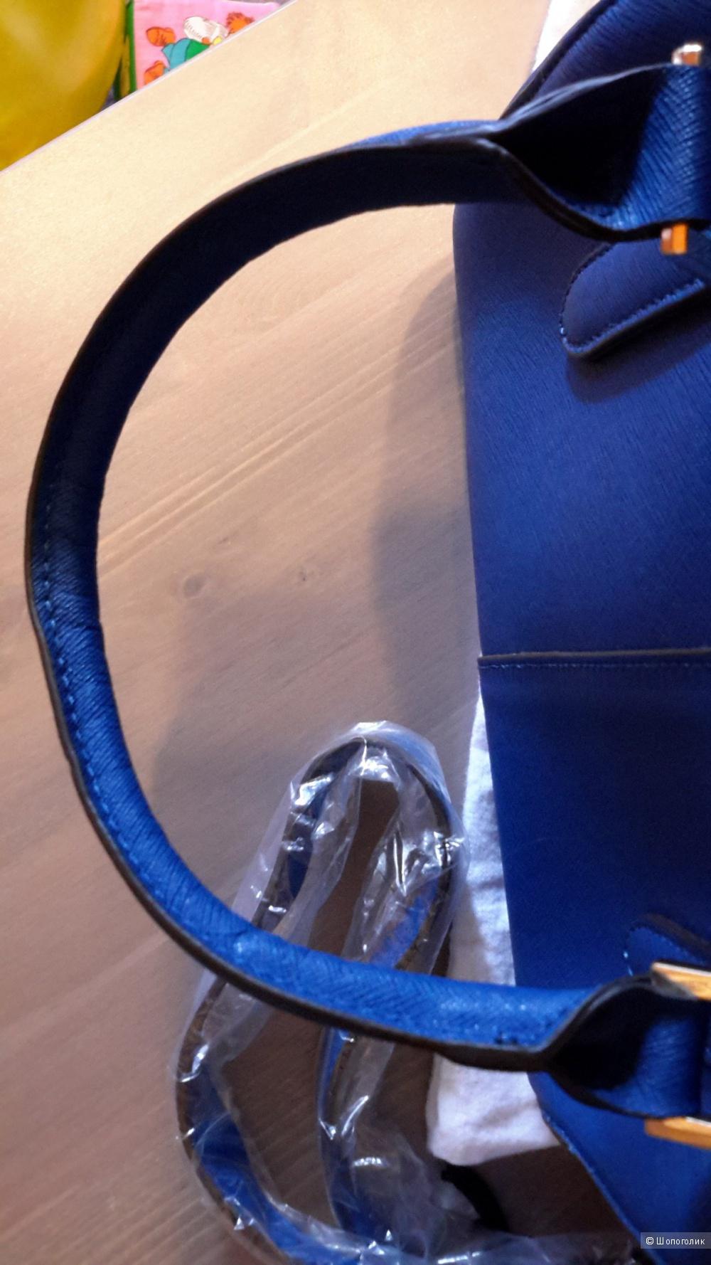 Сумка DKNY реплика хорошего качества б/у 1 раз кожа