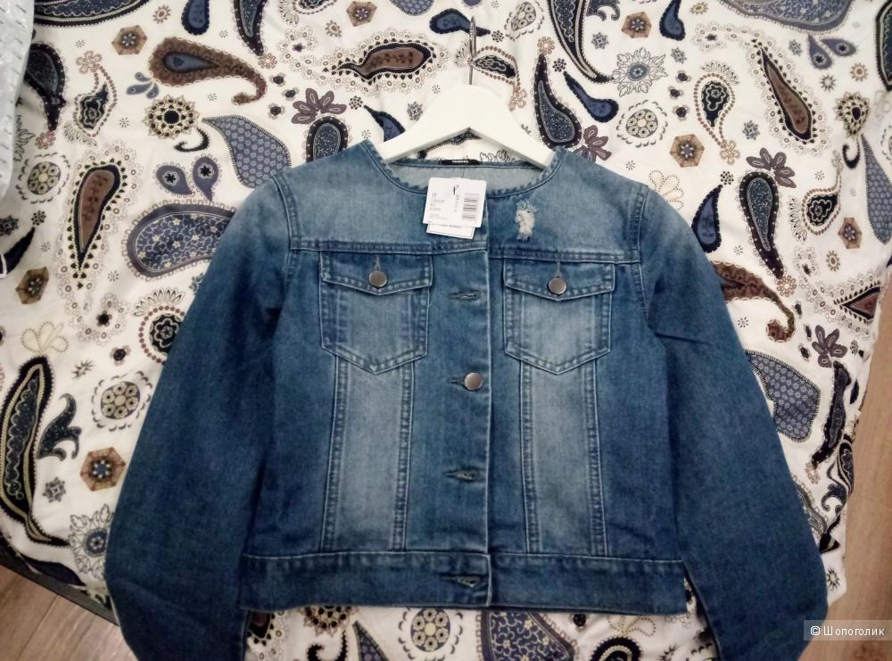 Джинсовая куртка новая Tezenis
