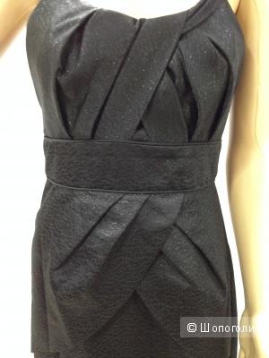 Dolce & Gabbana шикарное офисное платье с люриксом р.44 новое за 6.5 тыс