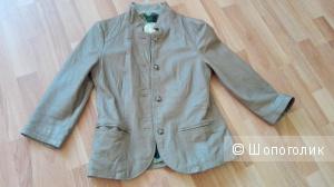 Куртка кожаная VINTAGE DE LUXE, производство Италия, 42IT