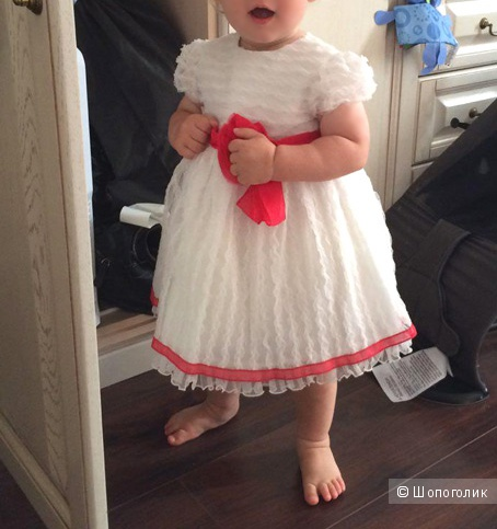Нарядное платье Aletta на 6 мес + (можно носить и в год). Новое.