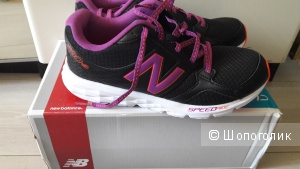 New Balance WX715 Women US 8 Black Sneakers