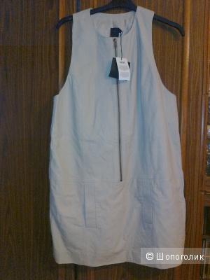 Платье 100% кожа ASOS размер 12 на наш 48
