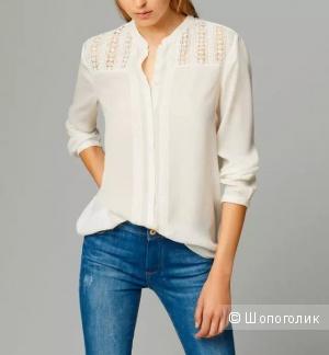 Massimo Dutti:  удлиненная женская блузка-рубашка