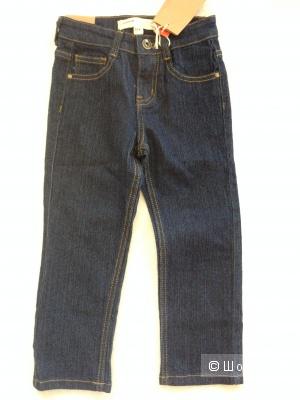 Детские джинсы Denim Kids на 4 годика из плотного настоящего денима
