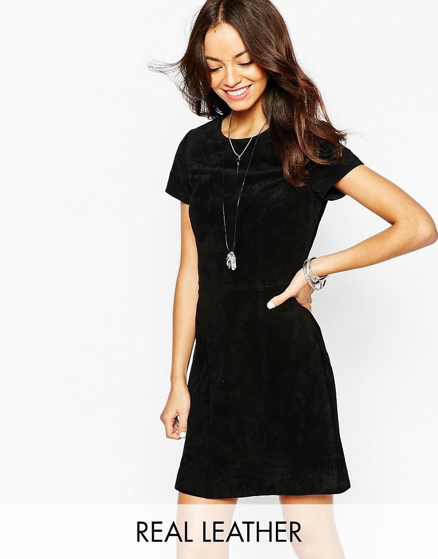Продам новое платье New Look из натуральной замши, размер 8