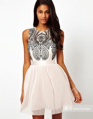 Платье с расшитым лифом Lipsy VIP UK 6